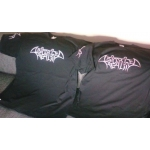 DISTORTED REALITY t-shirt, logo GRAY edging, L size
